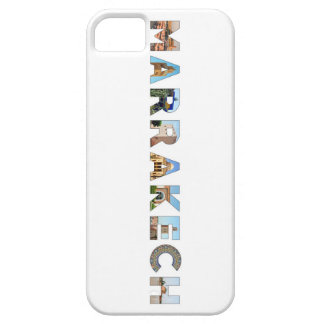 marrakech city morocco symbol text travel landmark iPhone SE/5/5s case