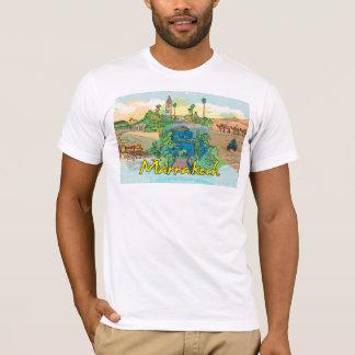 marrakech landmarks tshirt