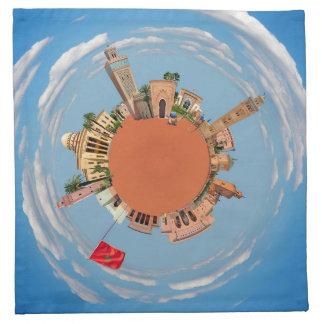 marrakech little planet morocco travel tourism lan cloth napkin