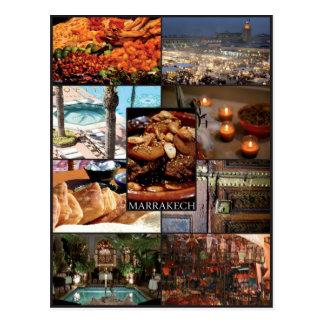 Marrakech - Marruecos - Postal