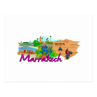 Marrakech - Morocco.png Post Card