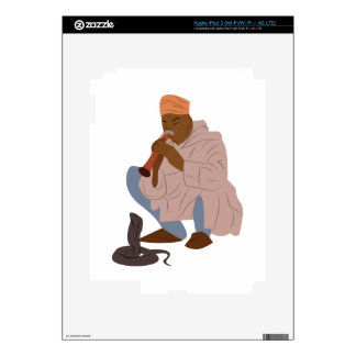 Marrakech Snake Charmer Decal For iPad 3