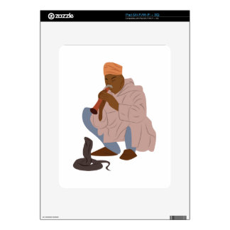 Marrakech Snake Charmer Decals For iPad