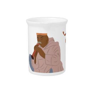 Marrakech Snake Charmer Drink Pitcher