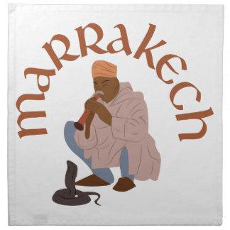 Marrakech Snake Charmer Napkin