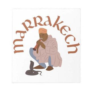 Marrakech Snake Charmer Notepad