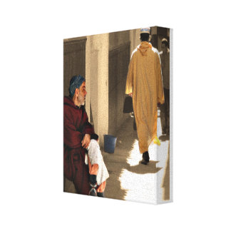 Marrakech Stretched Canvas Print
