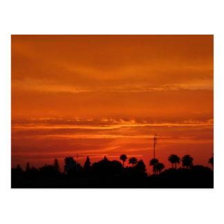 Marrakech Sunset Postcard