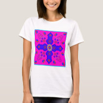 Marrakesh Arabesque inspired ribbon eggs bright T-Shirt