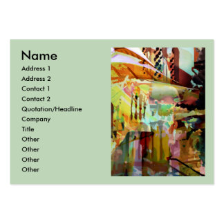Marrakesh Arches Large Business Card