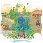 Marrakesh Escultura Fotografica