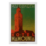 Marrakesh Hotel de la Mamounia Posters