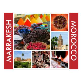 Marrakesh Marruecos Postal