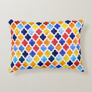 Marrakesh Moroccan red and blue Accent Pillow
