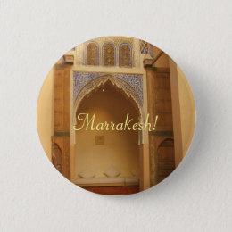 Marrakesh, Morocco Button