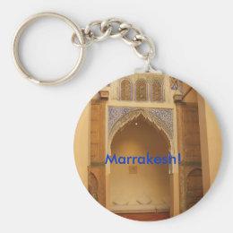 Marrakesh, Morocco Keychain