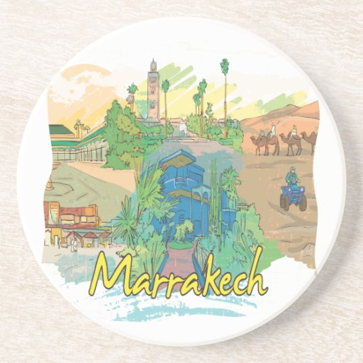 Marrakesh Posavasos Para Bebidas