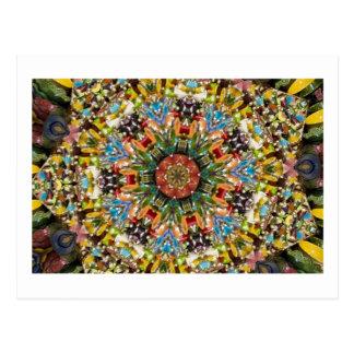 Marrakesh Shop Kaleidoscope Postcards