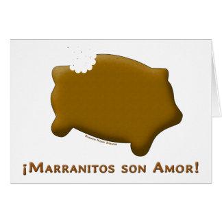 Marranitos son Amor (Marranitos are Love) Cards