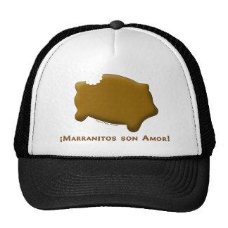 Marranitos son Amor (Marranitos are Love) Mesh Hat