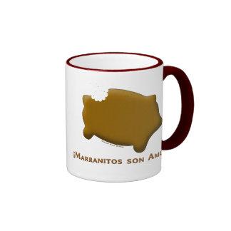 Marranitos son Amor Marranitos are Love Coffee Mugs