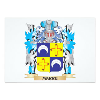 Marre Coat of Arms - Family Crest 5x7 Paper Invitation Card