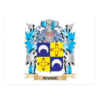 Marre Coat of Arms - Family Crest Post Card