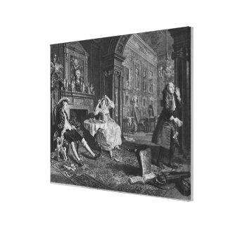 Marriage a la Mode Canvas Print