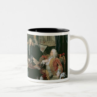 Marriage a la Mode: I - The Marriage Settlement, c Two-Tone Coffee Mug