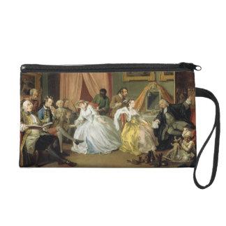 Marriage a la Mode: IV, The Toilette, c.1743 (oil Wristlet Purses