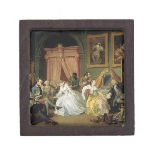Marriage a la Mode: IV, The Toilette, c.1743 (oil Keepsake Box