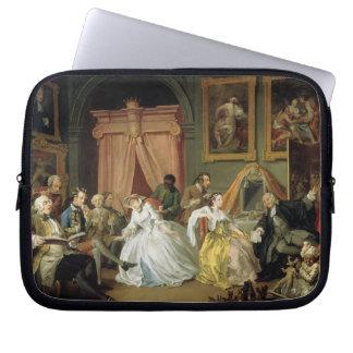 Marriage a la Mode: IV, The Toilette, c.1743 (oil Computer Sleeve
