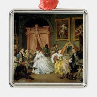Marriage a la Mode: IV, The Toilette, c.1743 (oil Metal Ornament