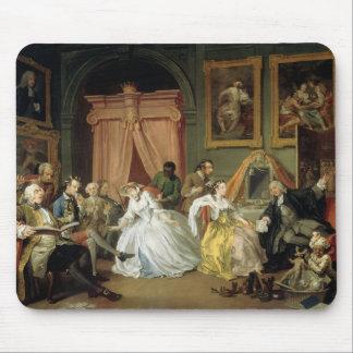Marriage a la Mode: IV, The Toilette, c.1743 (oil Mouse Pad