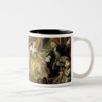Marriage a la Mode: IV, The Toilette, c.1743 (oil Two-Tone Coffee Mug