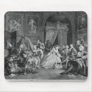 Marriage a la Mode, Plate IV, The Toilette, 1745 Mouse Pad