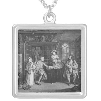 Marriage a la Mode Silver Plated Necklace