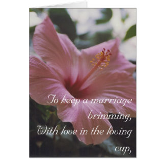 Marriage advice - card