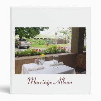 Marriage Album to keep all your pictures Binder
