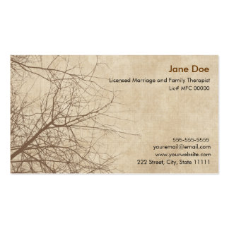 Family therapist business cards templates zazzle for Family business cards