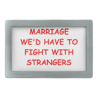 MARRIAGE BELT BUCKLE
