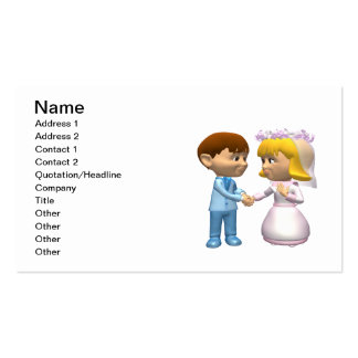 Marriage Business Cards