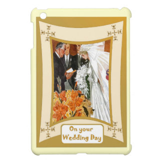 Marriage ceremony iPad mini cover