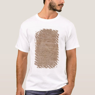 Marriage certificate of Wolfgang,Mozart and Weber T-Shirt