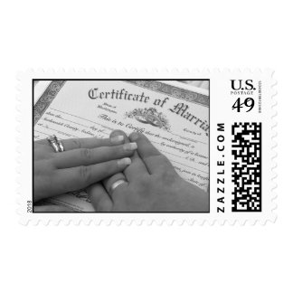 Marriage Certificate Postage