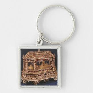 Marriage coffer, 1753 keychain