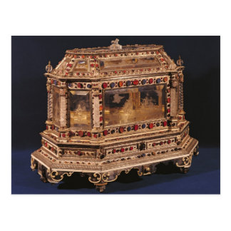 Marriage coffer, 1753 postcards