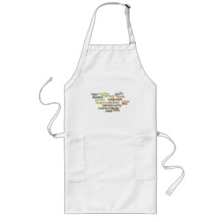 Marriage Collection Of Words (Wedding Wordle) Aprons