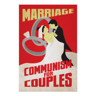 Marriage: Communism for Couples Print