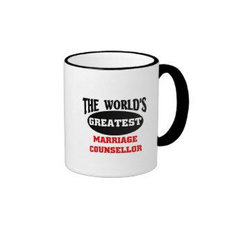 Marriage Counsellor Ringer Mug